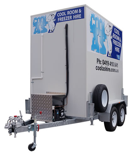 Mobile Freezer Room